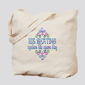 Ice Skating Fun Tote Bag